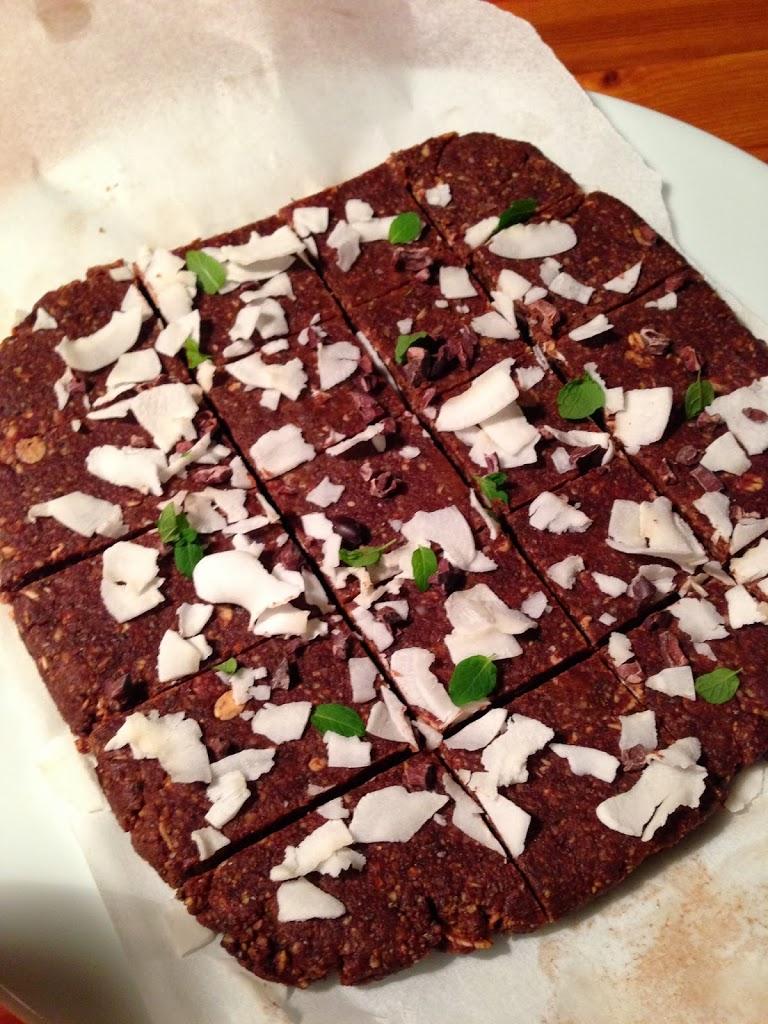 Helt rå sjokoladekake